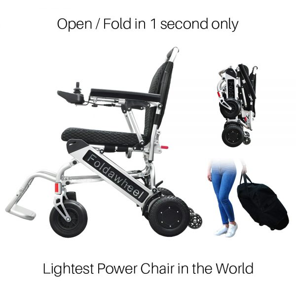 Lightest Power Wheelchair
